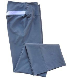 NIKE DRI-FIT Gray Purple Athletic Workout Pants